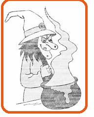 la sorcière au chaudron