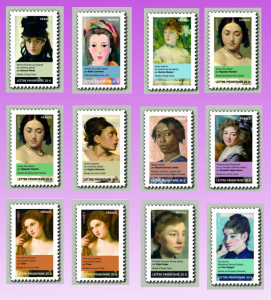les 12 timbres journee femme 2012