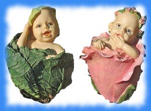bebe-chou et bebe-rose