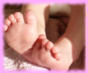 pieds-de-bébé